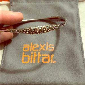 Stunning Alexis Bittar Bangle with Chrystals
